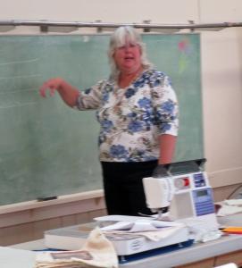 Susan demonstrating loops