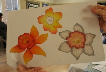 Candy-DaffodilsInProgress